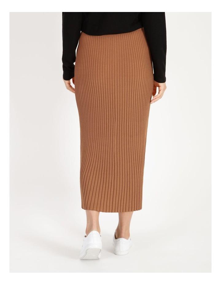 Midi Knit Skirt image 3