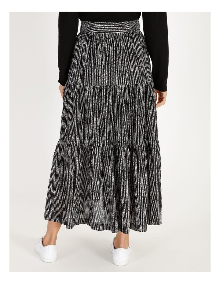 Tiered Belted Skirt image 3