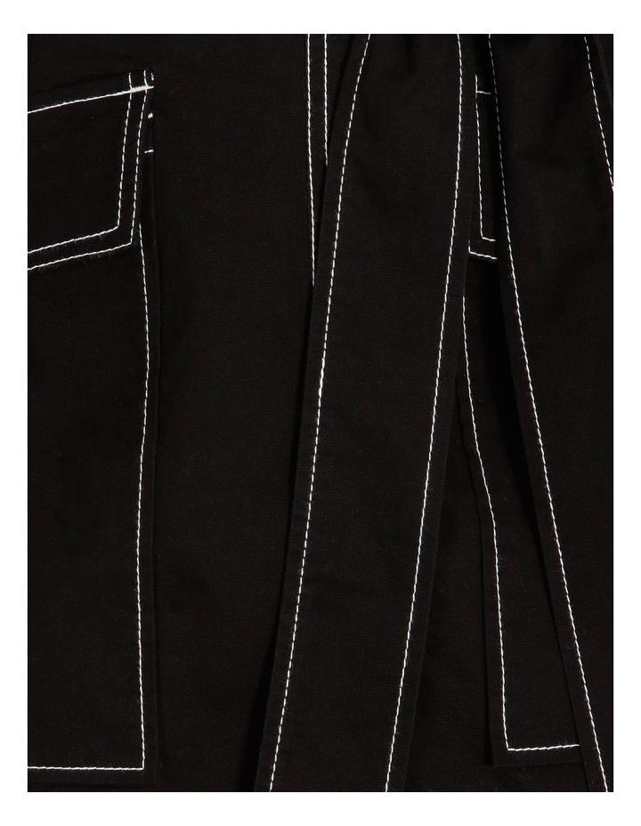 Contrast Stitch Mini Skirt image 6