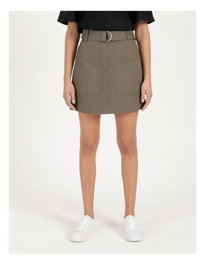 Cotton Kalamata Utility Skirt image 2