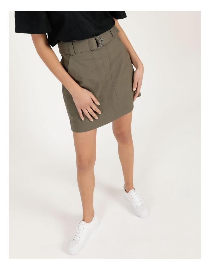 Cotton Kalamata Utility Skirt image 4