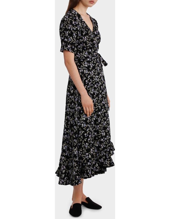 Dress Maxi Wrap Print image 2
