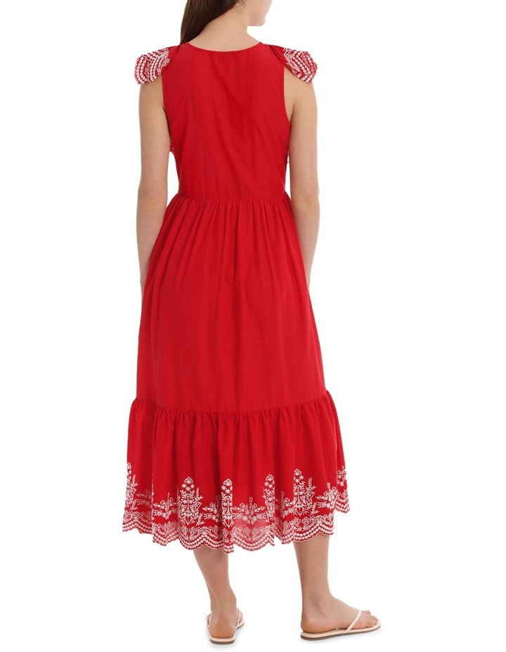 Dress Ruffles and Embroidery image 3