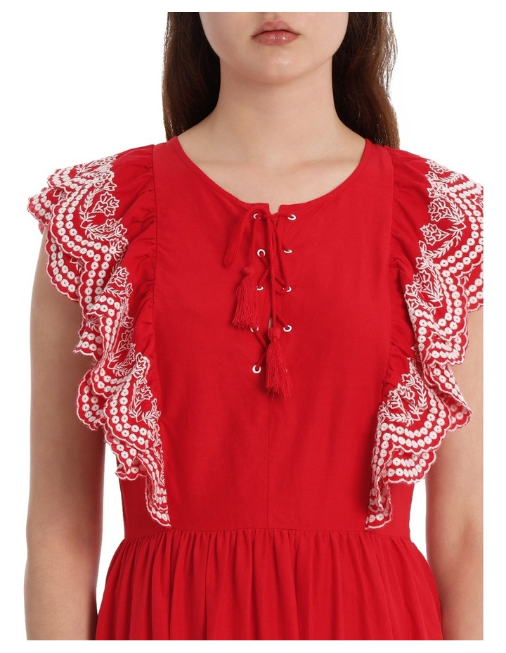 Dress Ruffles and Embroidery image 4