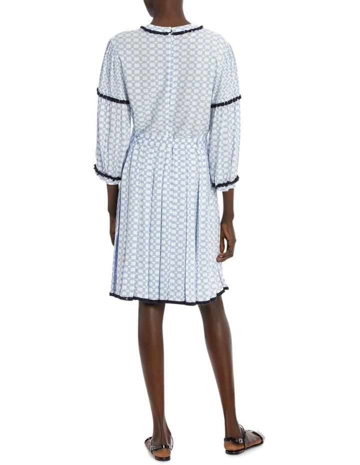 Dress 3/4 Sleeve spliced print image 3