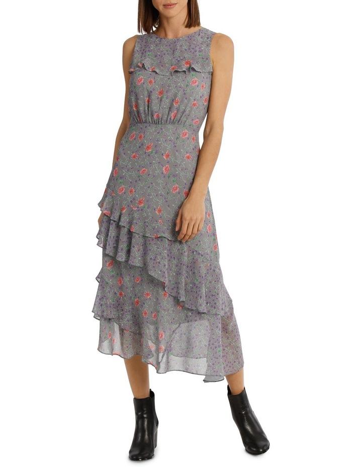 Dress Spliced Print Combo image 1