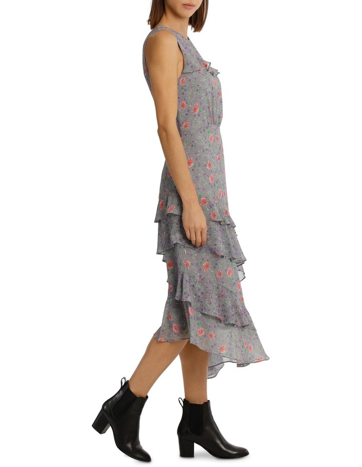 Dress Spliced Print Combo image 2
