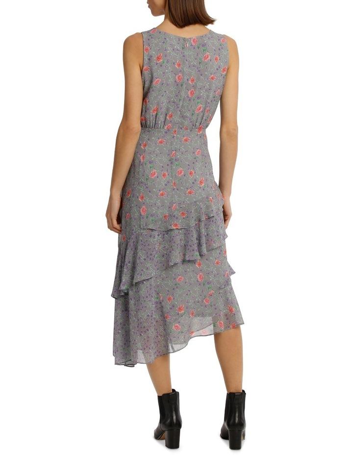 Dress Spliced Print Combo image 3