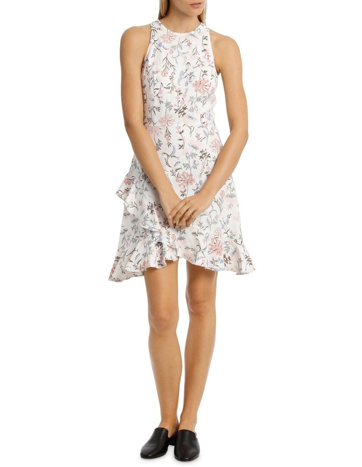 Dress Printed With Ruffles image 1