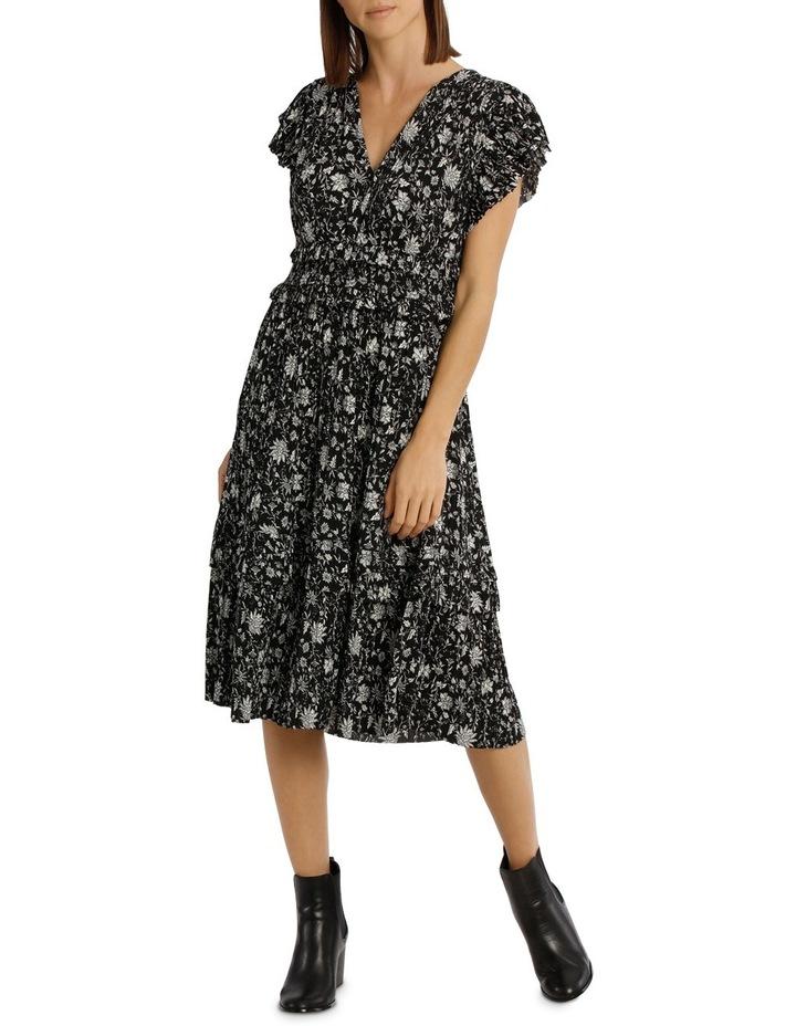 Dress Vee Neck With Ruffles image 1