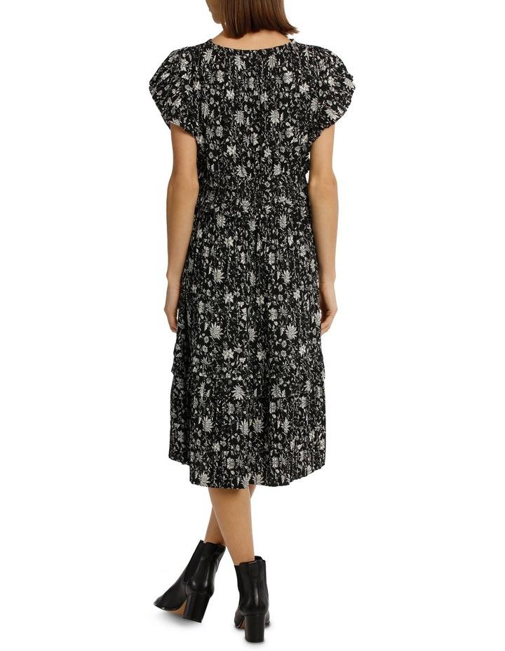 Dress Vee Neck With Ruffles image 3