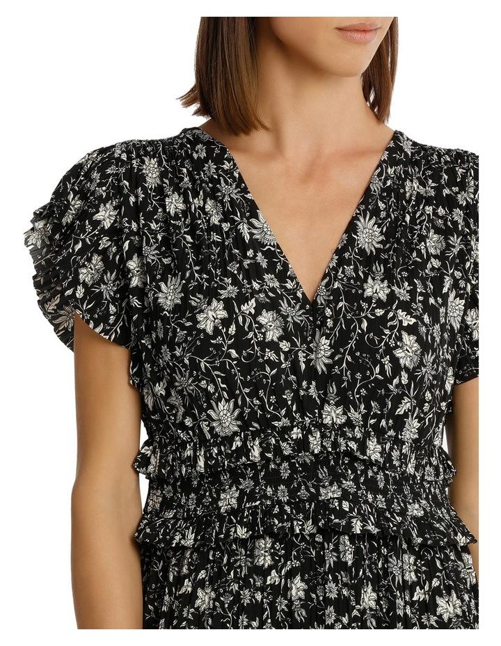 Dress Vee Neck With Ruffles image 4