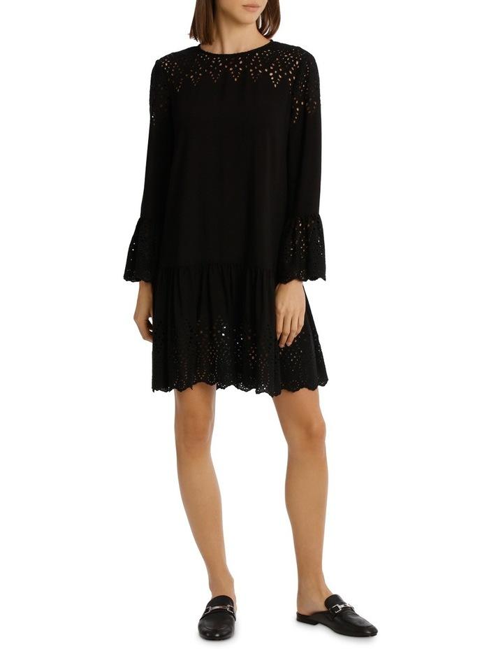 Dress Drop Waist With Braclet Sleeve image 1