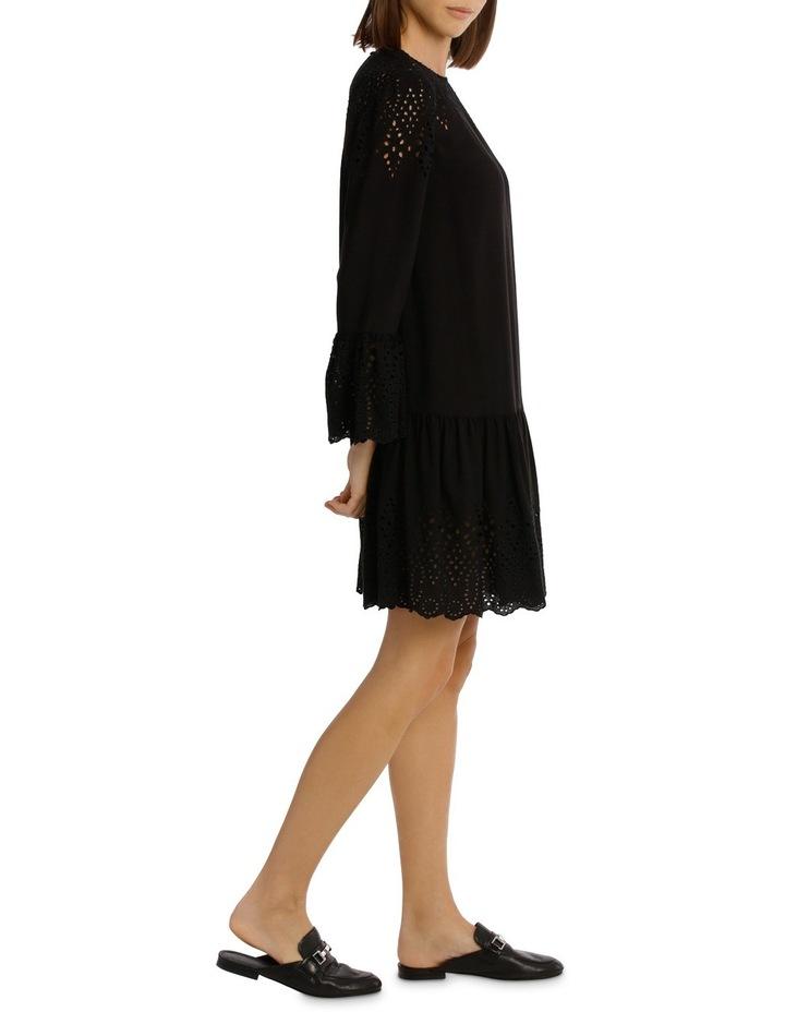 Dress Drop Waist With Braclet Sleeve image 2