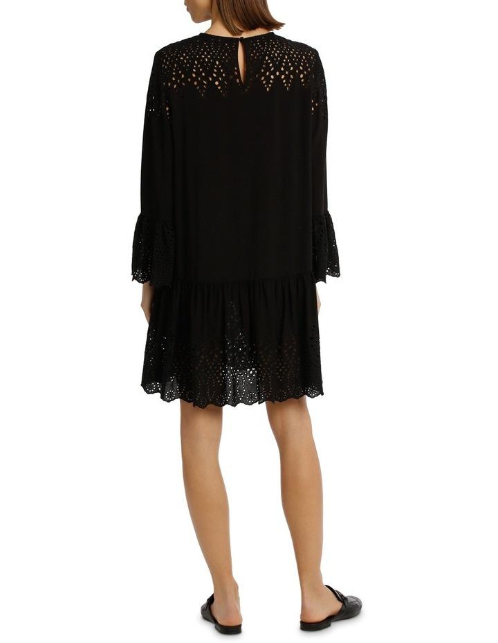 Dress Drop Waist With Braclet Sleeve image 3