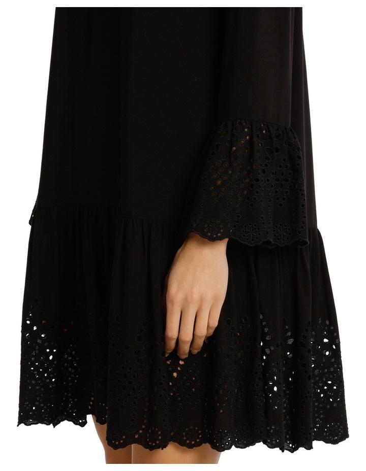 Dress Drop Waist With Braclet Sleeve image 4