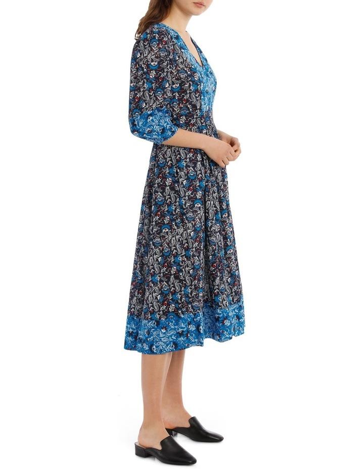 Dress Spliced 3/4 Sleeve image 2