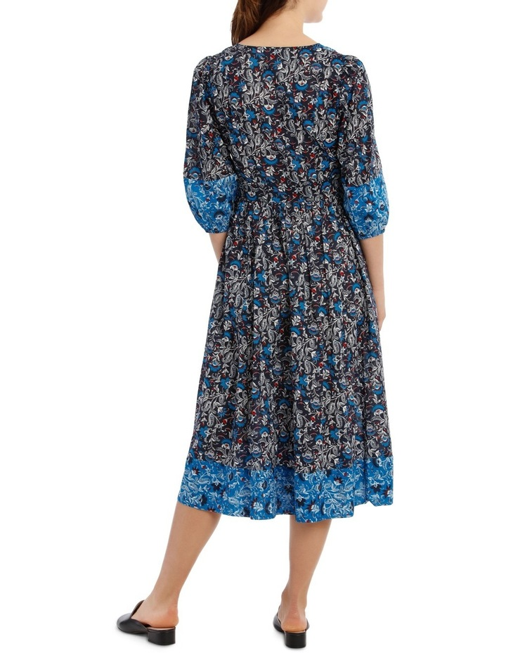 Dress Spliced 3/4 Sleeve image 3