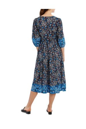 Piper - Dress Spliced 3/4 Sleeve