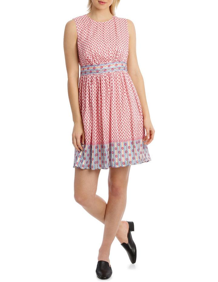 Dress Spliced sleeveless CrewNeck image 1