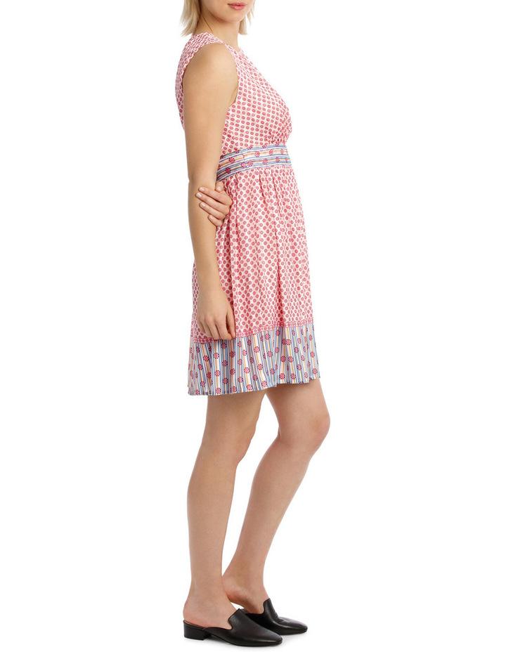 Dress Spliced sleeveless CrewNeck image 2