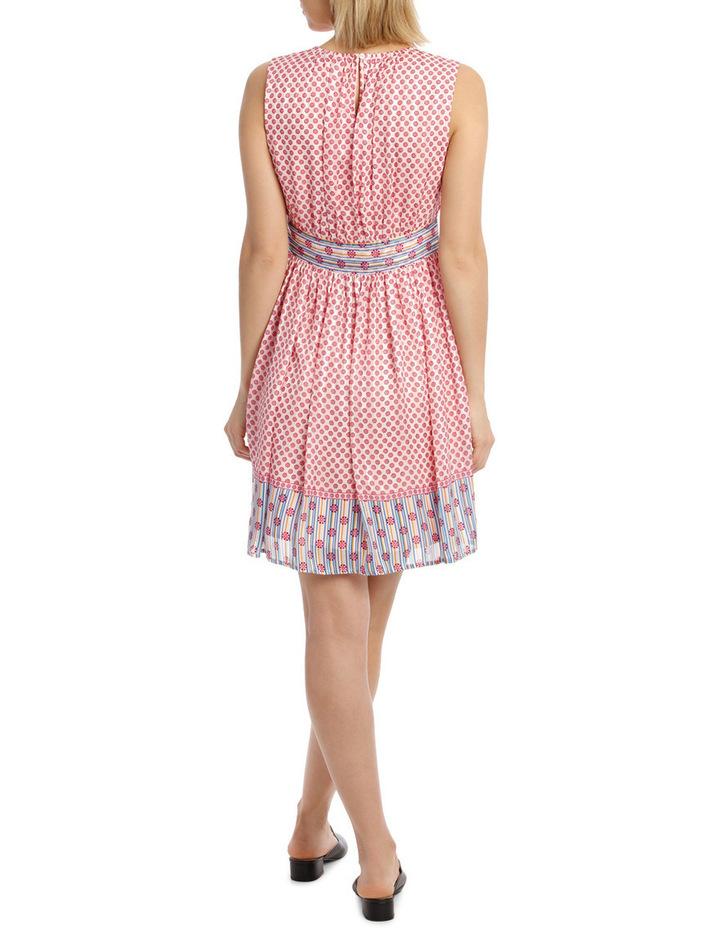 Dress Spliced sleeveless CrewNeck image 3