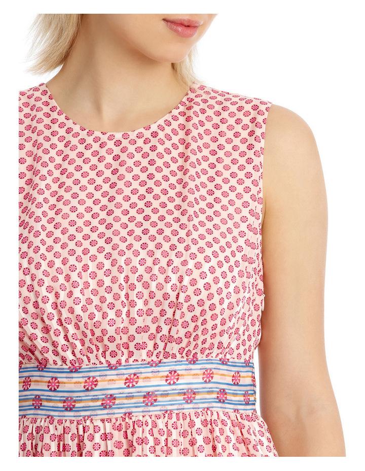 Dress Spliced sleeveless CrewNeck image 4