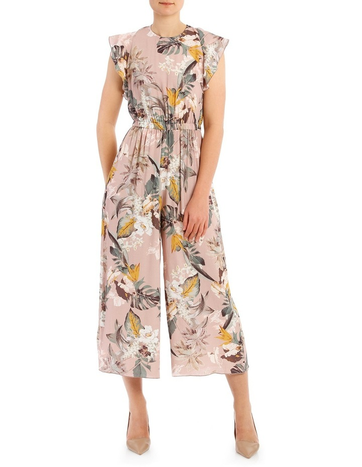 d3743295dd6 Printed Jumpsuit With Sleeve image 1