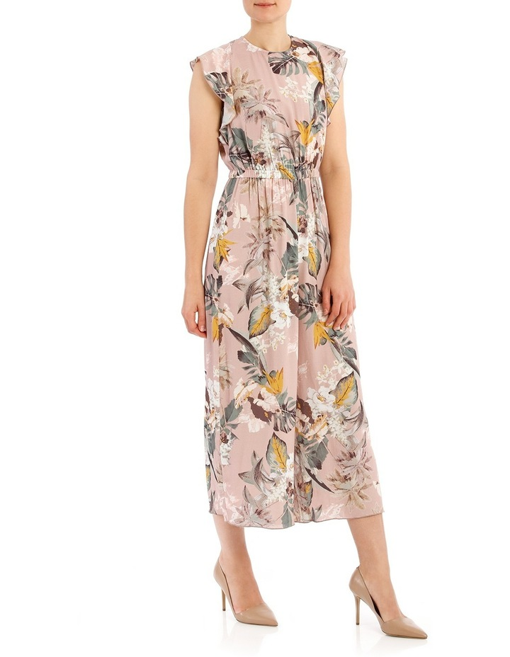 Printed Jumpsuit With Sleeve image 2