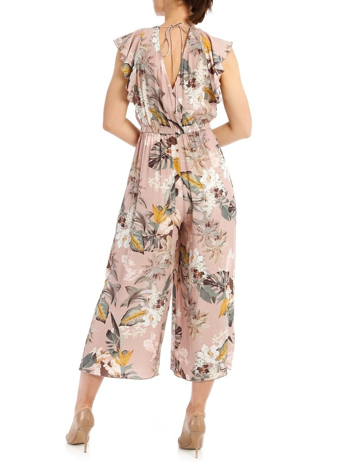 Printed Jumpsuit With Sleeve image 3