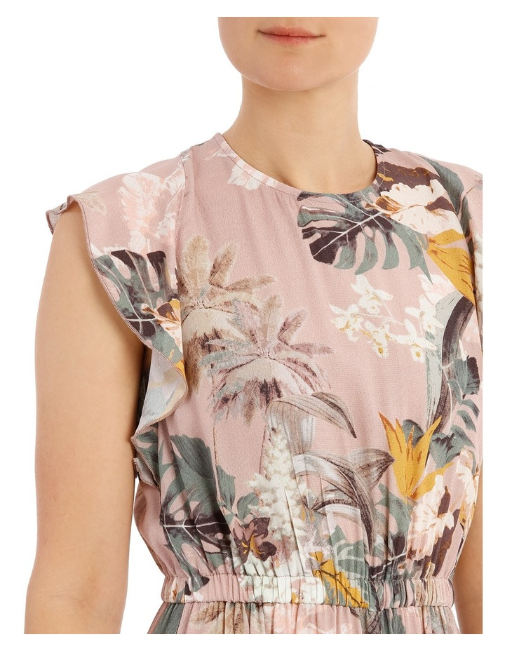 Printed Jumpsuit With Sleeve image 4
