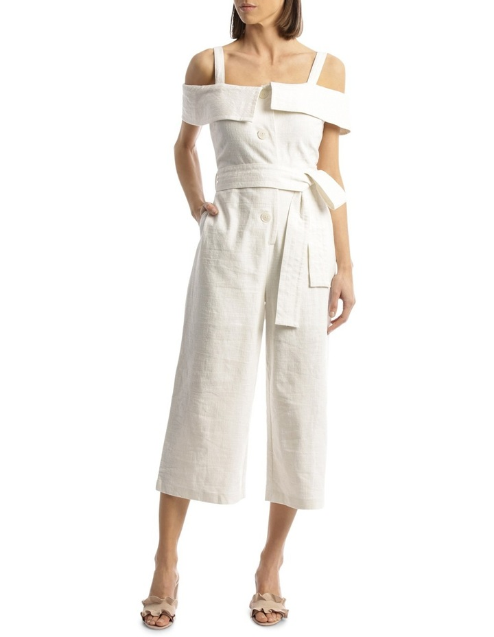 86b4bf31e53 Jumpsuit Off Shoulder With Strap Button Through image 1