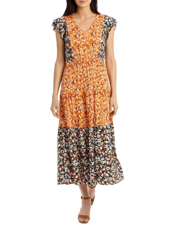 Dress Spliced Print image 1