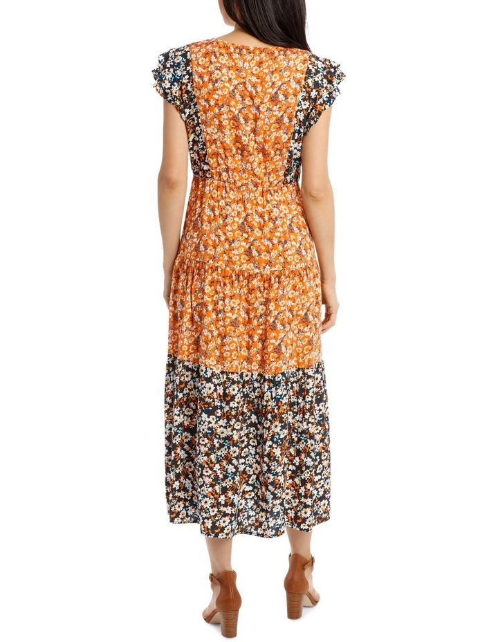 Dress Spliced Print image 3