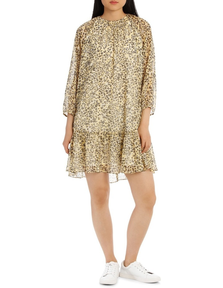 Dress Printed Animal Metallic image 1
