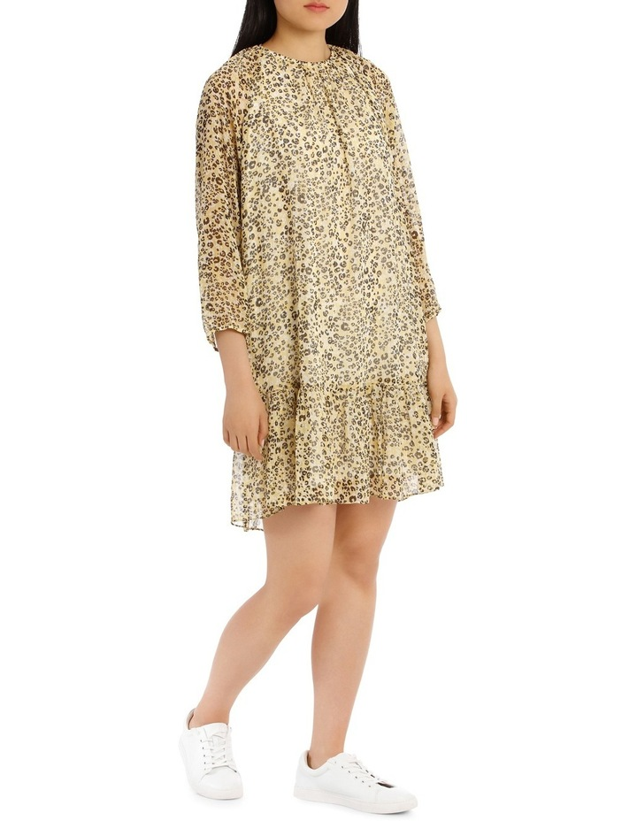 Dress Printed Animal Metallic image 2
