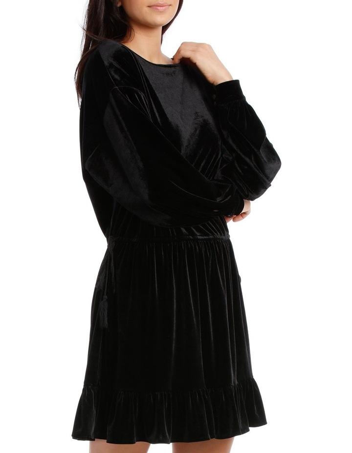 Dress Velvet with Tunnel Waist image 2