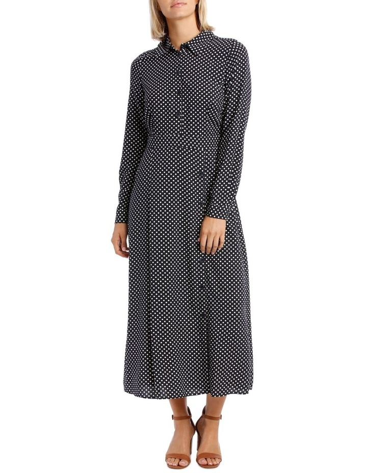 Long Sleeve Dress Spot Shirt image 1