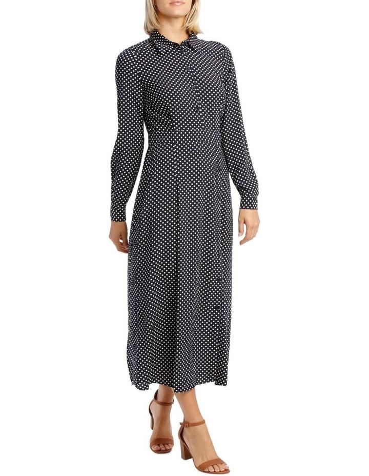 Long Sleeve Dress Spot Shirt image 2