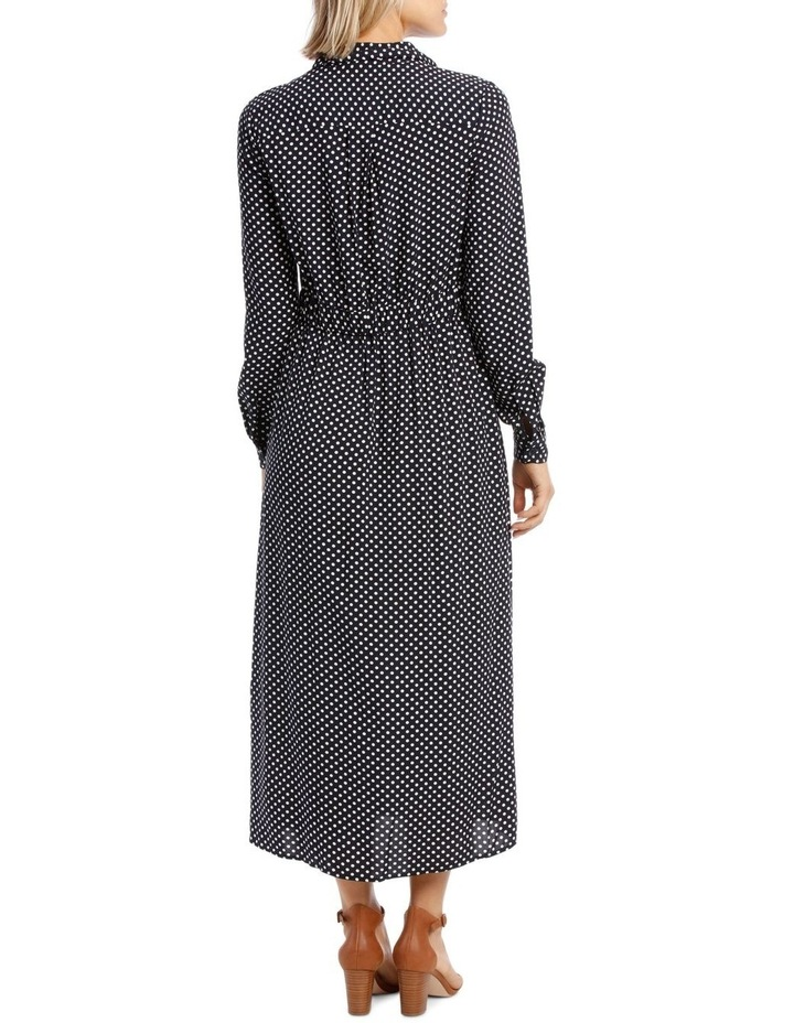 Long Sleeve Dress Spot Shirt image 3