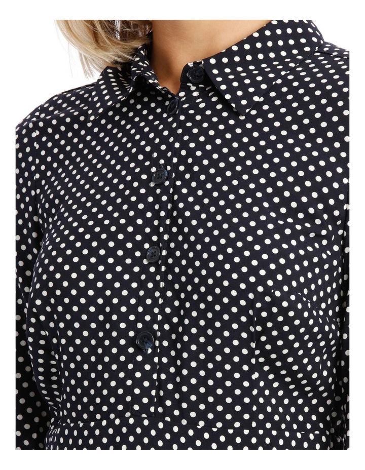 Long Sleeve Dress Spot Shirt image 4