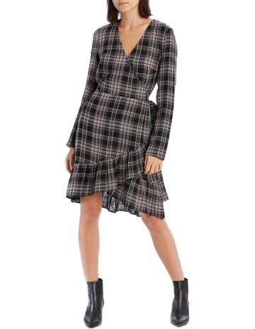 5ca5e18d839 Piper Check Wrap Dress