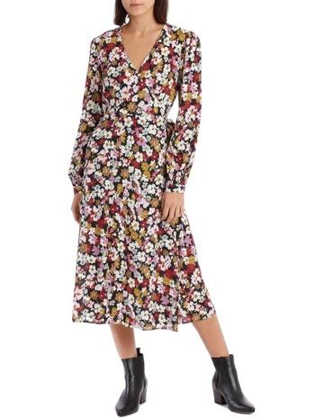 7c0f08f6 Piper Bell Cuff Wrap Dress
