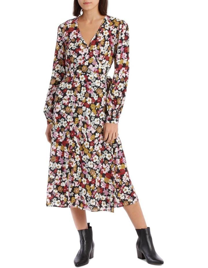 Bell Cuff Wrap Dress image 1