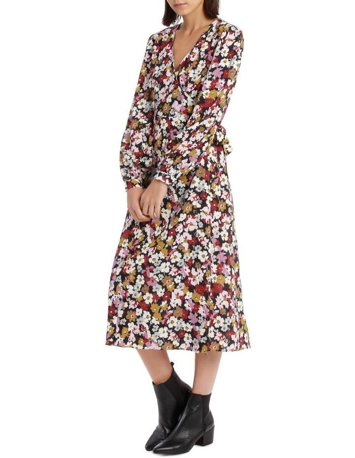 Bell Cuff Wrap Dress image 2