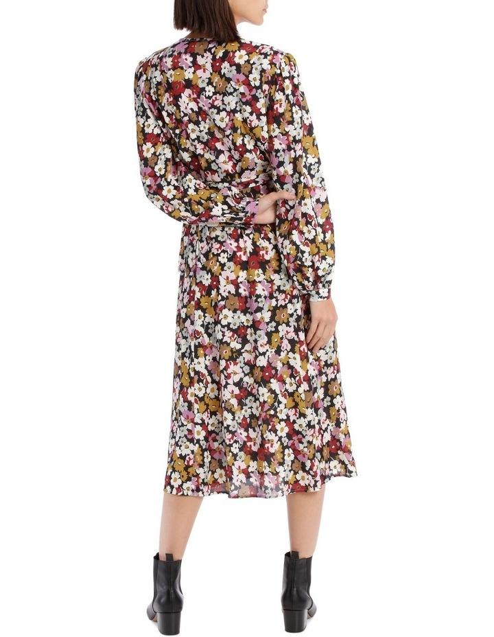Bell Cuff Wrap Dress image 3
