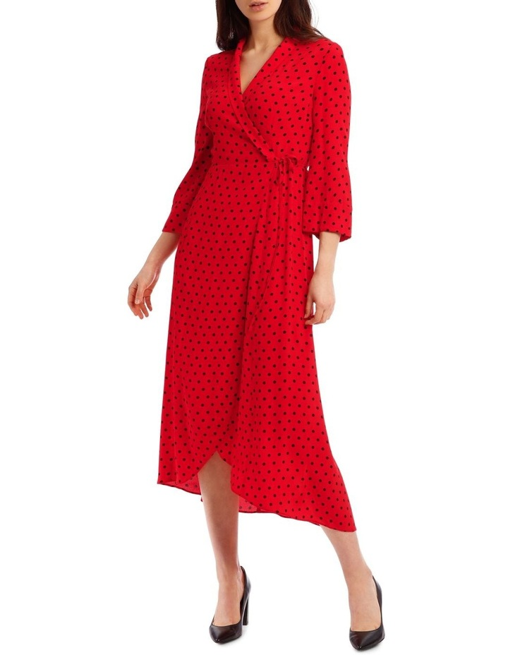 Spotted Wrap Dress image 1
