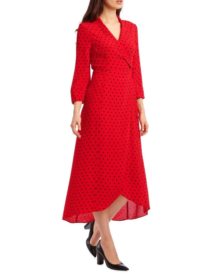 Spotted Wrap Dress image 2