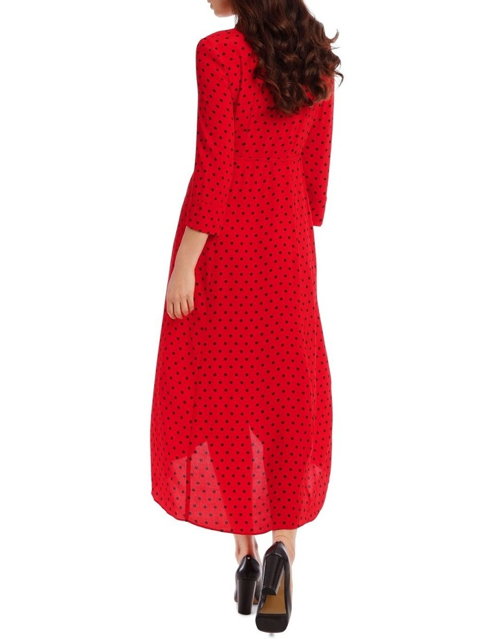 Spotted Wrap Dress image 3