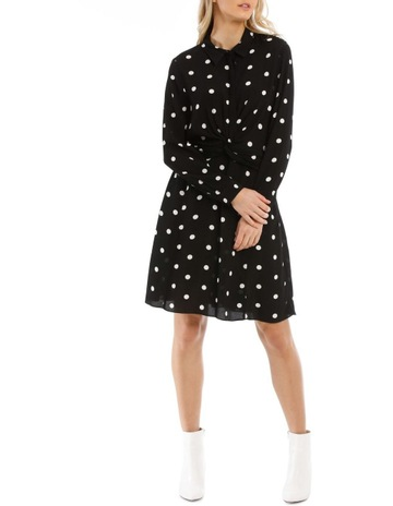 923e8555 PiperDress Spot With Twist Bodice. Piper Dress Spot With Twist Bodice. price